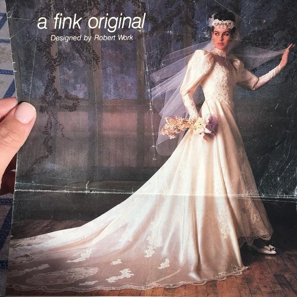 Fink Bridals Dresses | Vintage Fink Original Wedding Gown | Poshmark